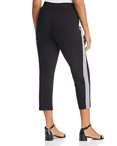 Eileen Fisher Plus - Slim Track Stripe Pants