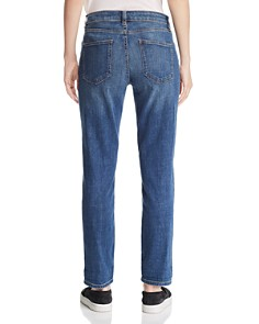 Eileen Fisher - Cropped Boyfriend Jeans in Aged Indigo