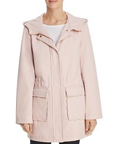 kate spade new york - Scalloped Pocket Trench Coat