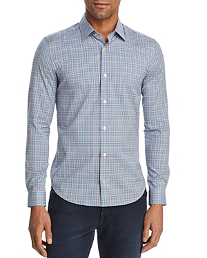 Paul Smith Gingham Slim Fit Button-Down Shirt