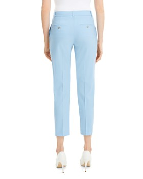 Theory - Treeca Wool-Blend Cropped Pants