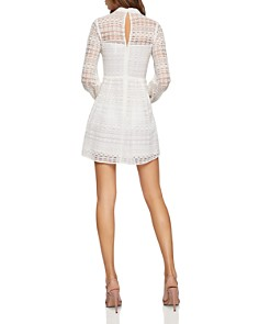 BCBGENERATION - Cutout Lace Fit-and-Flare Dress