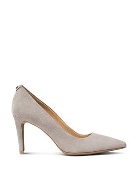 MICHAEL Michael Kors - Women's Dorothy Flex Suede Pointed Toe High-Heel Pumps