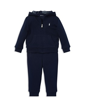 48e37e7fc Ralph Lauren - Boys' French Terry Hoodie & Jogger Pants Set - Baby ...