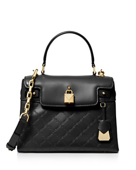 5fb1e84097ebba MICHAEL Michael Kors - Gramercy Medium Leather Satchel ...