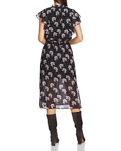 1.STATE - Bloomsbury Floral Print Midi Dress