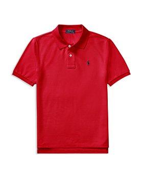 Ralph Lauren - Boys' Solid Mesh Polo Shirt - Little Kid, Big Kid