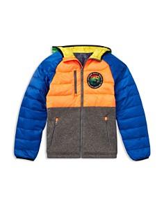 Ralph Lauren - Boys' Wildlife Hybrid Zip Down Jacket