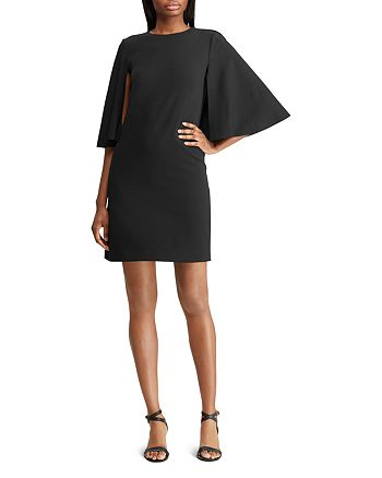 Ralph Lauren - Cape Overlay Dress