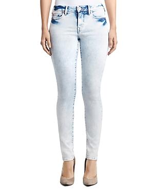 True Religion Halle Mid Rise Skinny Jeans in Aurora Borealis