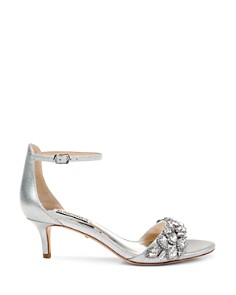 Badgley Mischka - Women's Lara II Embellished High-Heel Sandals