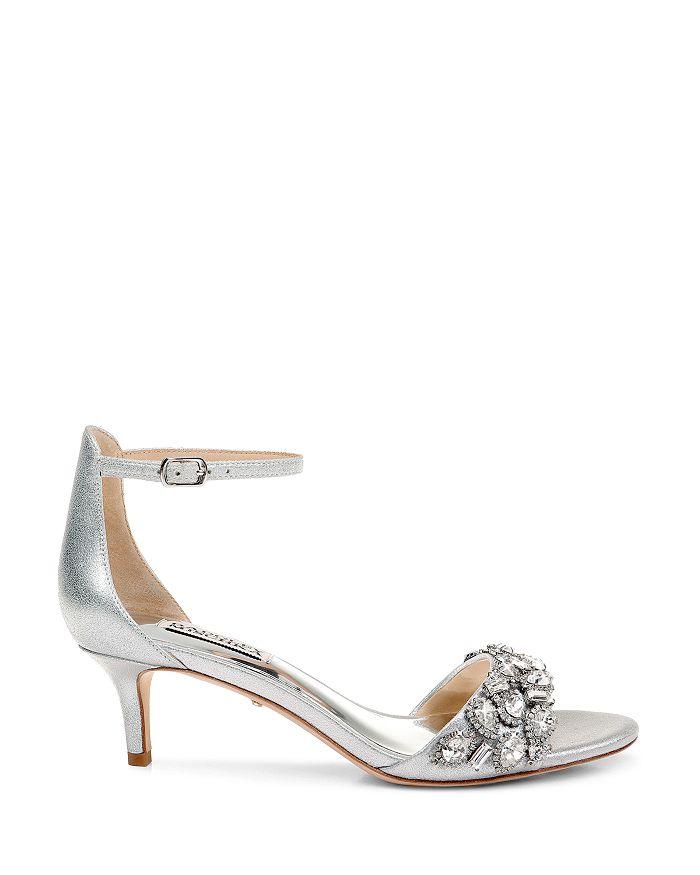 5e03abf53aee Badgley Mischka Women s Lara II Embellished High-Heel Sandals ...