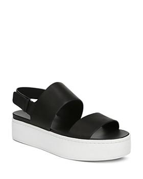 16d4824d08b9 Vince - Women s Westport Leather Platform Sandals ...
