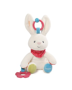 Gund - Flora Bunny Activity Toy - Ages 0+