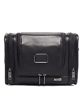 Tumi - Alpha 3 Leather Hanging Toiletry Kit