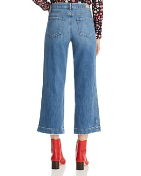 01e29bb6c4e ... PAIGE - Nellie Crop Wide Leg Jeans in Leigh