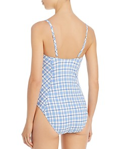 Tory Burch - Gingham One Piece Swimsuit
