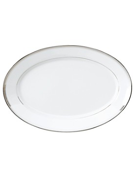"""Philippe Deshoulieres - """"Excellence Grey"""" Oval Platter, Large"""