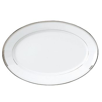 "Philippe Deshoulieres - ""Excellence Grey"" Oval Platter, Large"