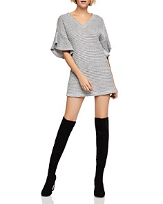 BCBGeneration - Flutter-Sleeve Sweater Dress