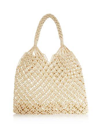 AQUA - Helen Owen x AQUA Net Crochet Tote - 100% Exclusive