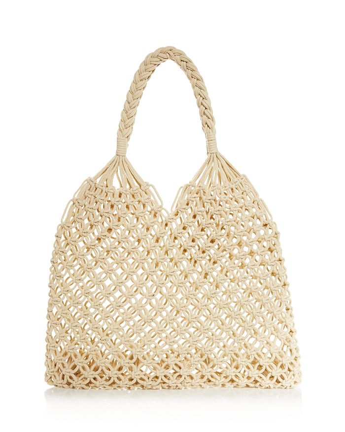 AQUA - Net Crochet Tote - 100% Exclusive
