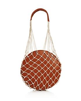 AQUA - Woven Round Shoulder Bag - 100% Exclusive