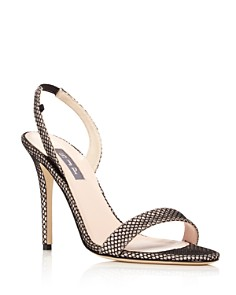 SJP by Sarah Jessica Parker - Women's Eleanor Slingback High-Heel Pumps