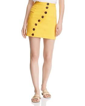Acler - Golding Denim Mini Skirt