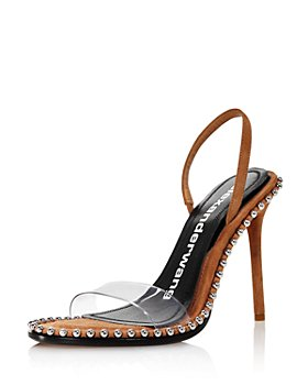 Alexander Wang - Women's Nova Slingback High-Heel Sandals