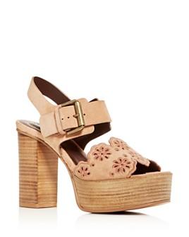See by Chloé - Women's Krysty High Block-Heel Platform Sandals