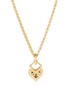 "JOHN HARDY - 18K Yellow Gold Legends Naga Pavé Diamond Pendant Necklace, 20"""