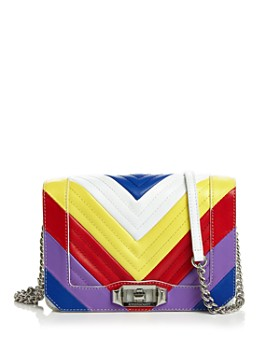 Rebecca Minkoff - Love Small Chevron Quilted Crossbody