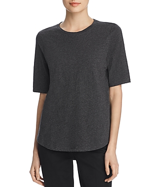 Eileen Fisher Tops SYSTEM ORGANIC COTTON CREWNECK TEE, REGULAR & PETITE