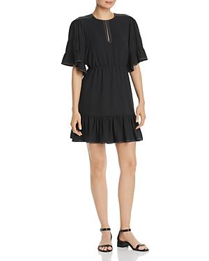 Joie Dresses FLOUNCED MINI DRESS
