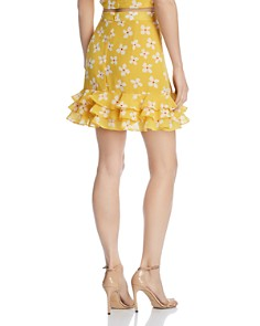 Bardot - Kiki Ruffled Floral Skirt - 100% Exclusive