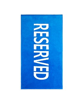 """Sky - """"Reserved"""" Beach Towel - 100% Exclusive"""