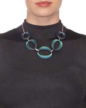 Alexis Bittar - Large Link Necklace, 16""