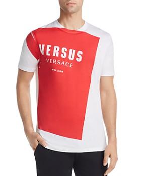 3ee1a5fd Versus Versace - Logo Block Graphic Tee