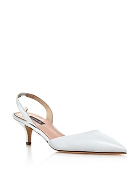 SJP by Sarah Jessica Parker - Women's Bliss Slingback Kitten-Heel Pumps
