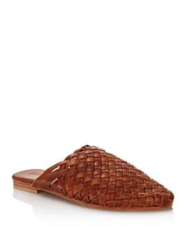 St. Agni - Women's Bunto Woven Leather Mules