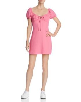 Cotton Candy LA - Puff-Sleeve Mini Dress