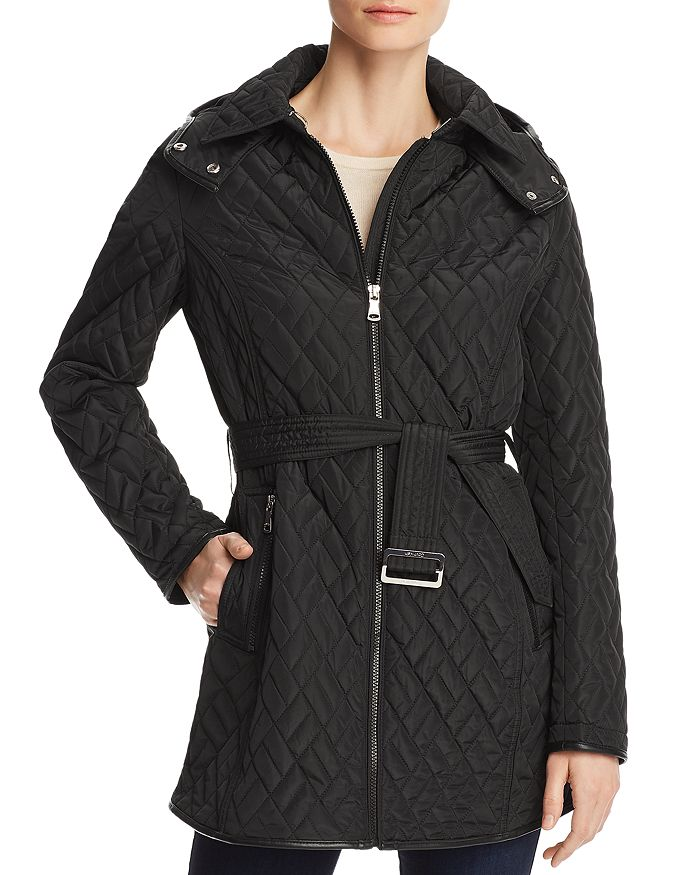 Calvin Klein - Belted Quilted Jacket