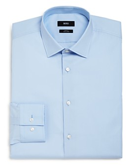 BOSS - Basic Solid Slim Fit Dress Shirt