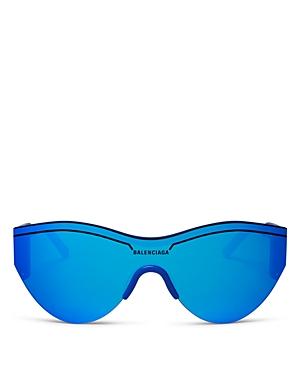Balenciaga Women\\\'s Cat Eye Shield Sunglasses, 99mm-Jewelry & Accessories