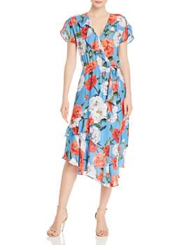 290ecd0f012 Parker - Reina Floral Print Midi Dress ...