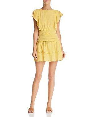 Suboo Dresses MORNING LIGHT RUFFLED MINI DRESS