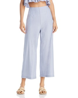Sage the Label - Wild One Striped Cropped Pants