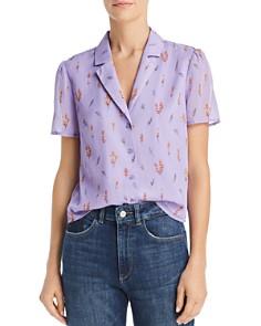 Re:Named - Tasha Button-Down Floral Shirt