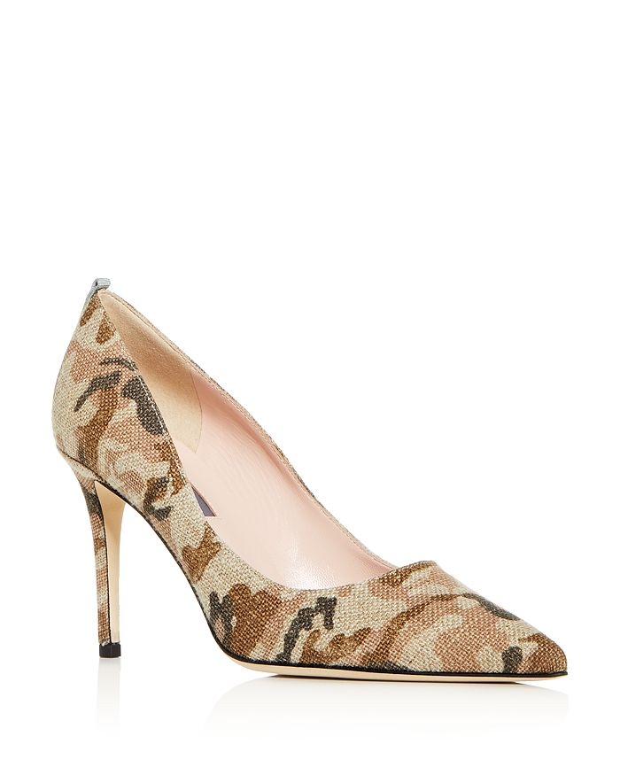 SJP by Sarah Jessica Parker - Women's Fawn Pointed-Toe Pumps